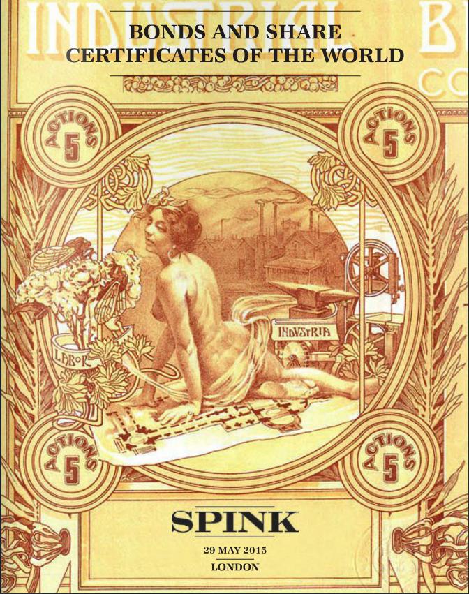 SPINK SCRIPOPHILY