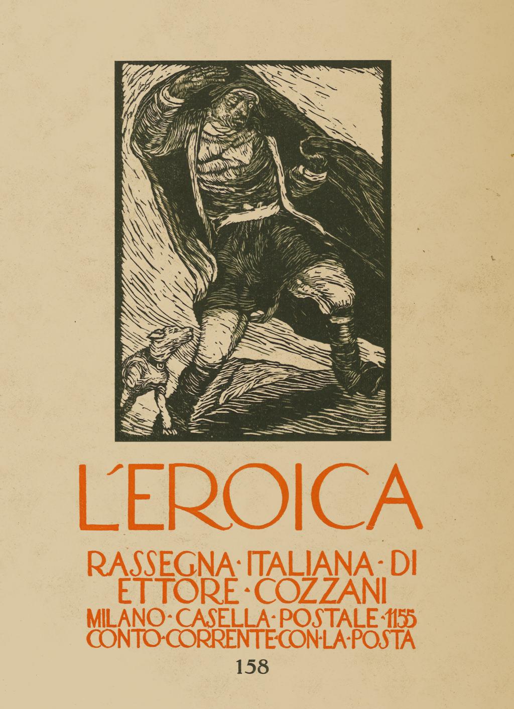 L'Eroica, quaderno numero 158