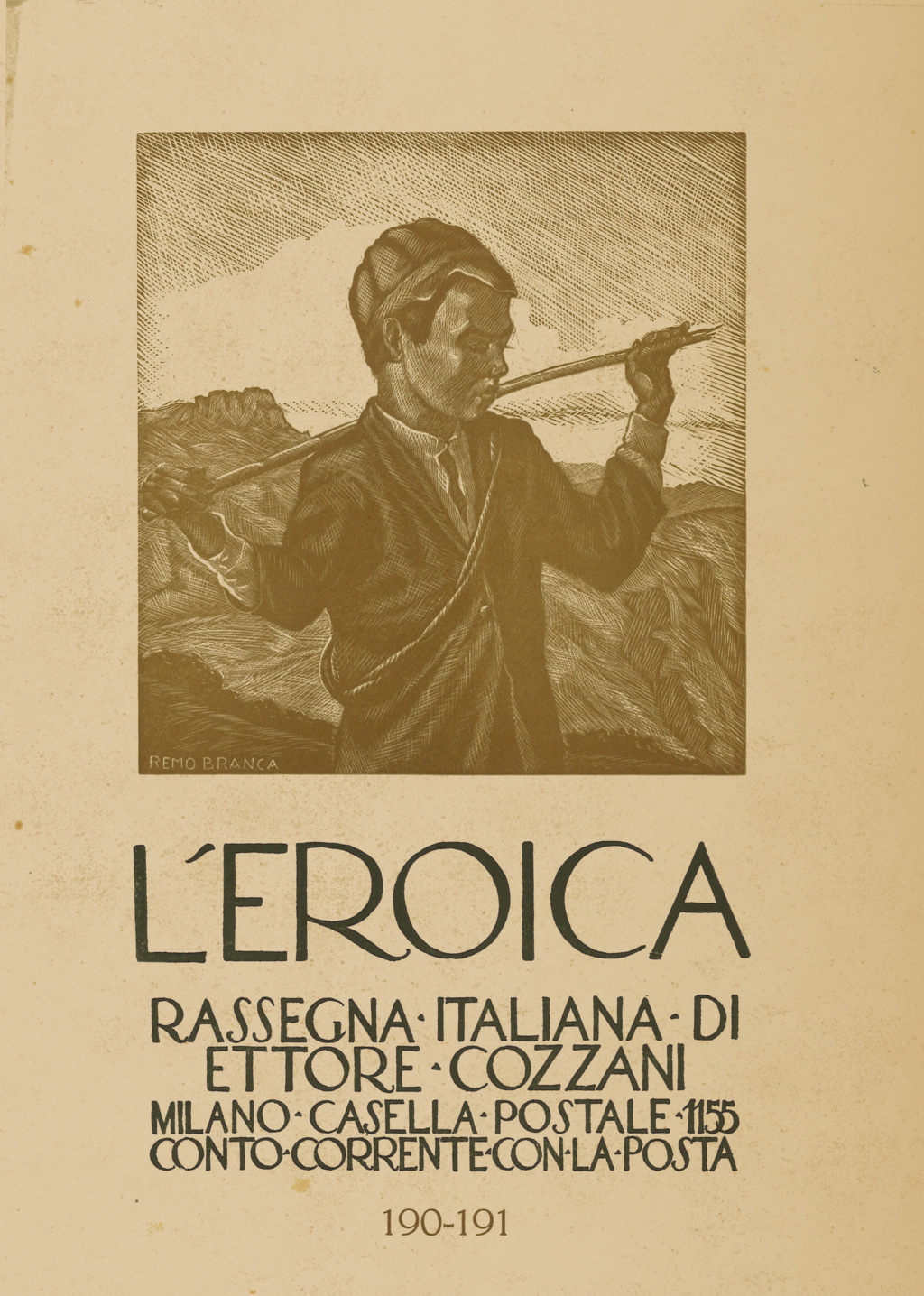 L'Eroica, quaderno numero 190-191