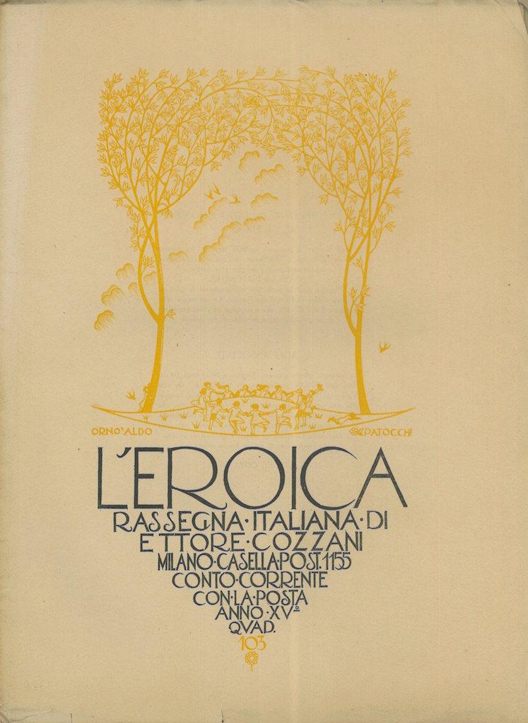 L'Eroica, quaderno numero 104