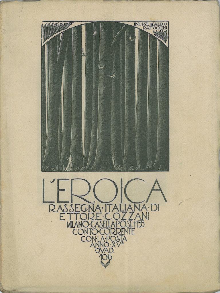 L'Eroica, quaderno numero 105