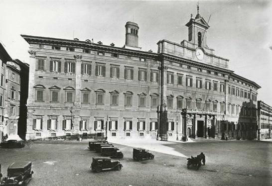 Papal state consolidated income 5 for Palazzo camera dei deputati