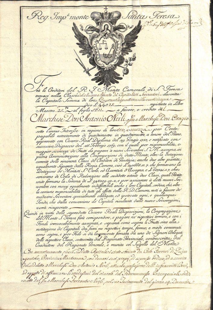 1765REGIOIMPERIALEMONTESANTATERESADUCATODIMILANO 2