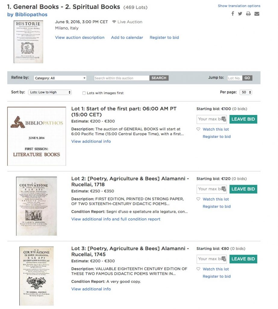 Bibliopathos
