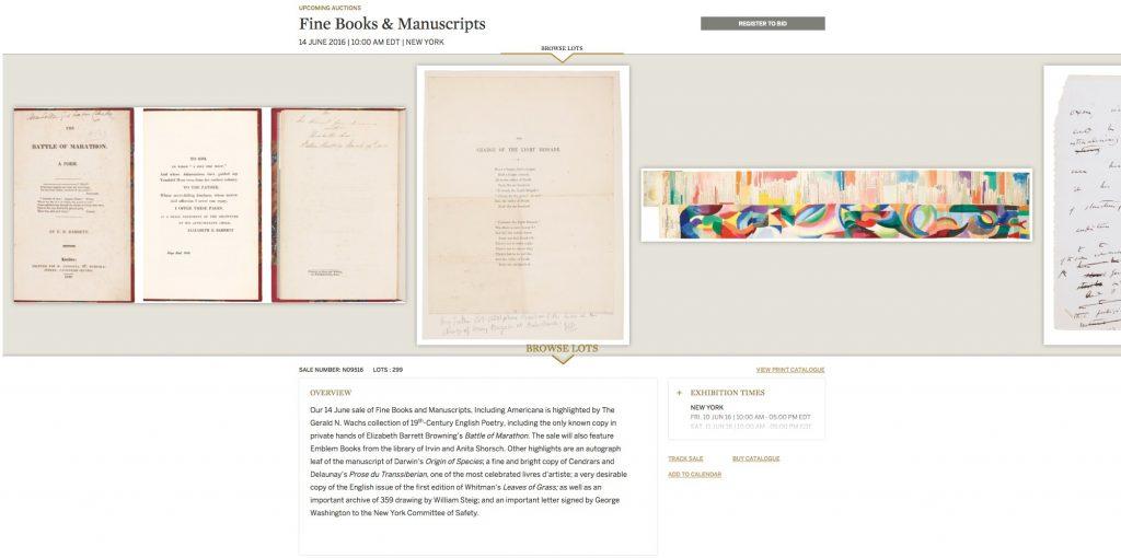 Fine E Books e Manuscripts