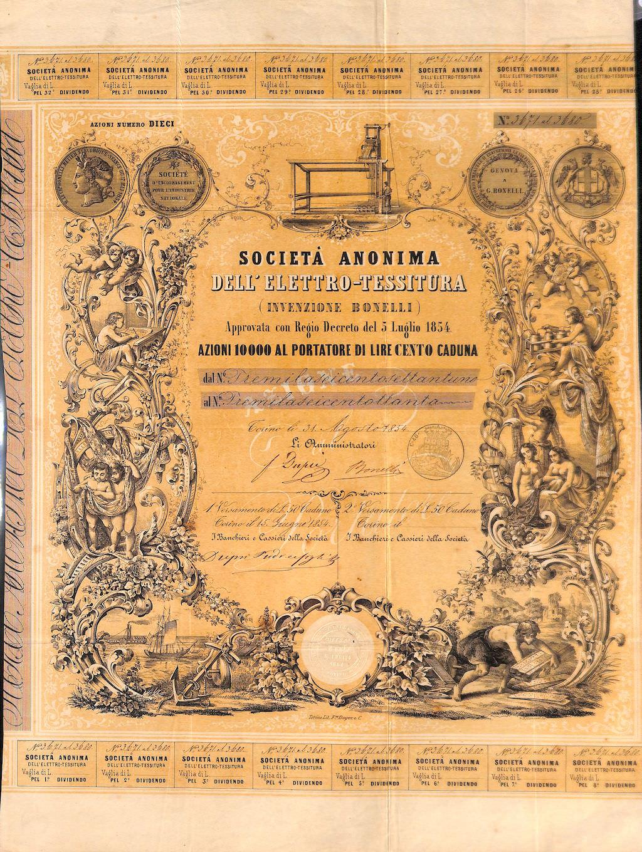 1854SOCIATAANONIMADELLELETTROTESSITURA