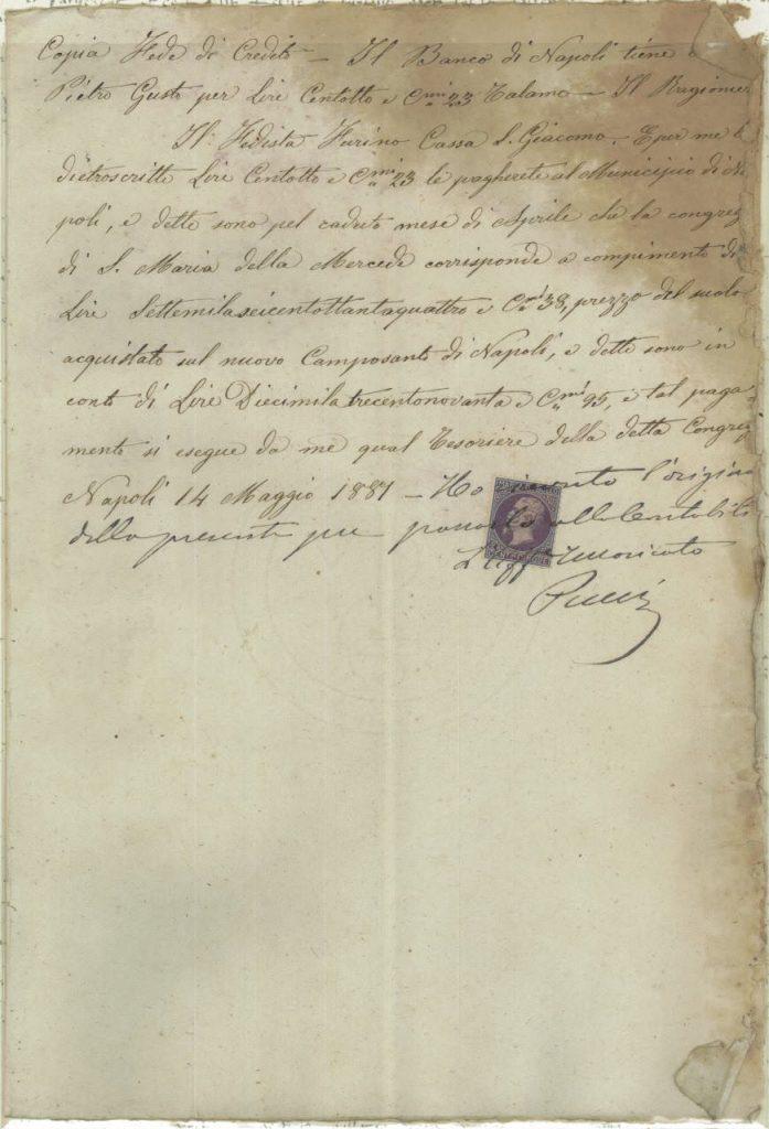 Banco di Napoli 1881