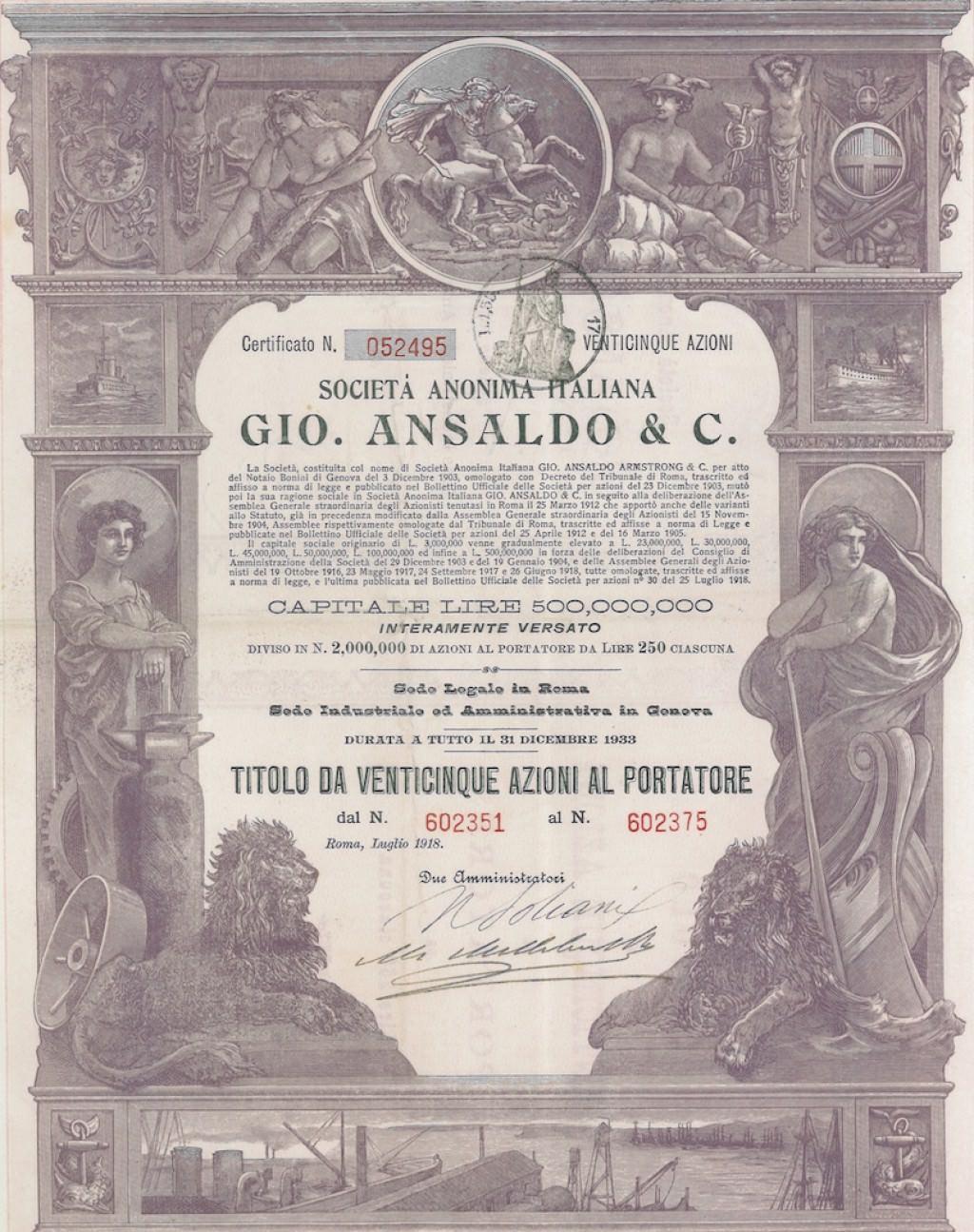 lampadari genova : una societ? industriale, sorta a Sampierdarena (quartiere di Genova ...