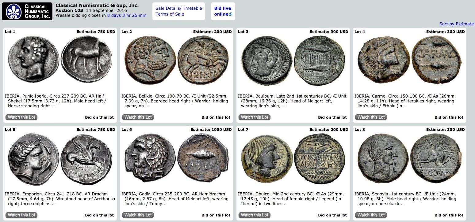 Classical Numismatics