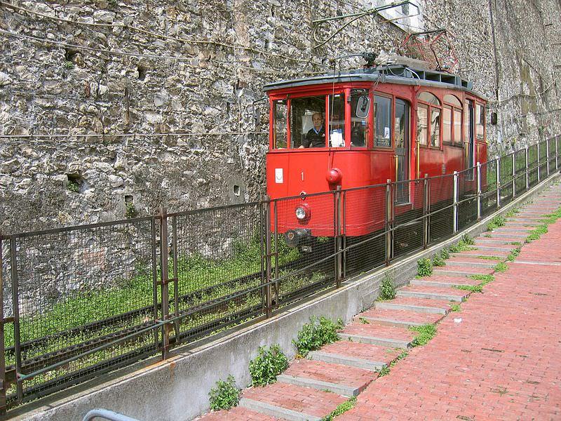 Ferrovia a cremagliera Principe-Granarolo (Genova)