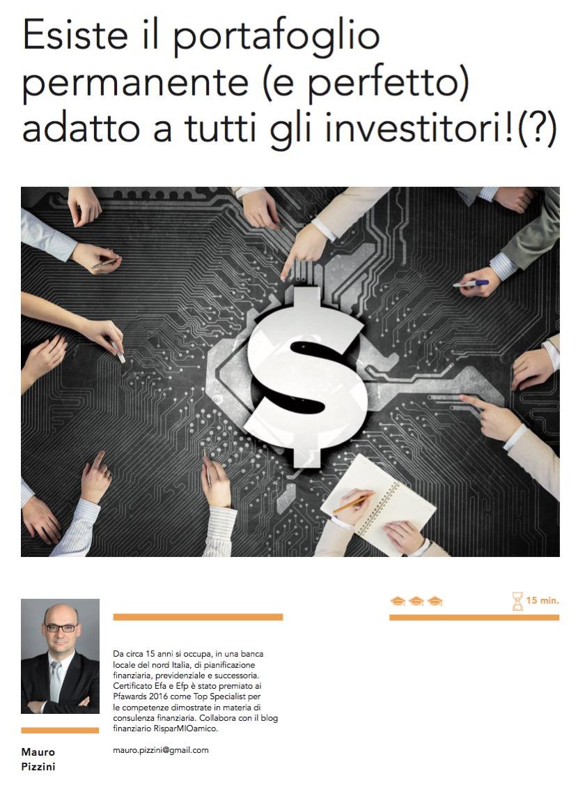Esiste il portafoglio permanente (e perfetto) adatto a tutti gli investitori!(?) di Mauro Pizzini