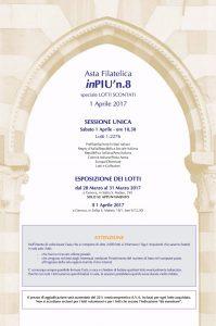 Asta Filatelica GHIGLIONE P8 - 1 Aprile 2017