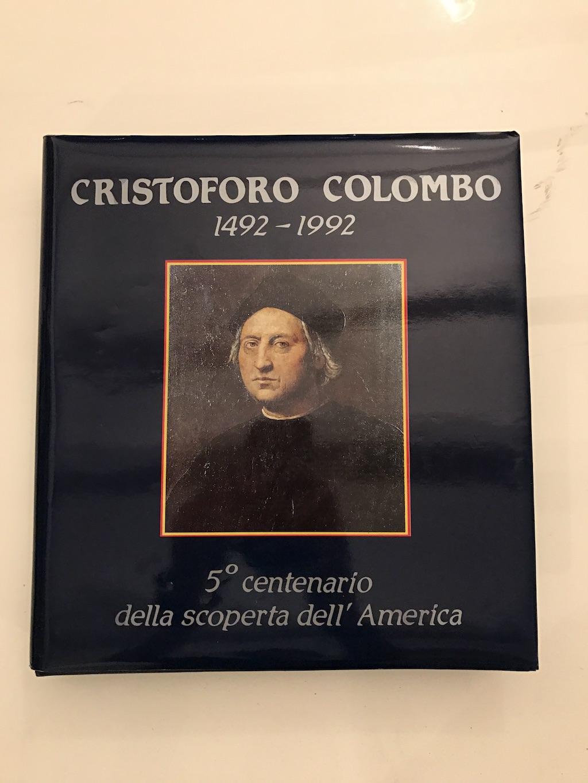 In asta: Italia - Album ufficiale collezione delle Poste Italiane del 5 centenario della scoperta dell'America e Cristoforo Colombo 1492-1992