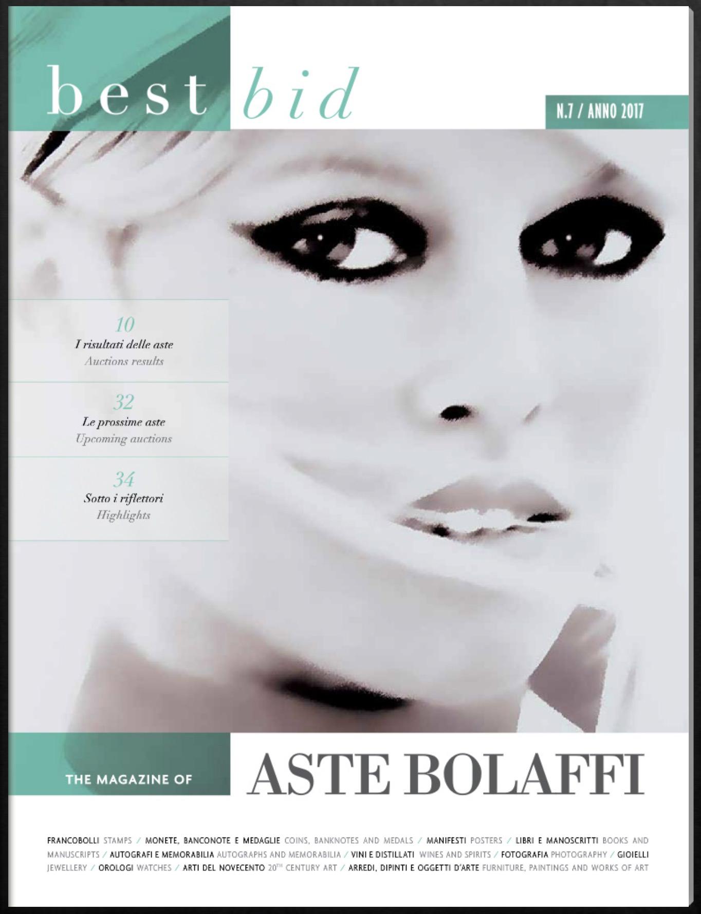 Nuovo numero online di Best Bid il magazine di Aste Bolaffi