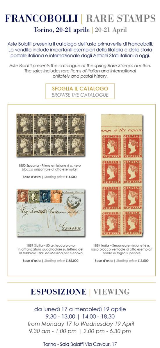 Francobolli - Rare Stamps